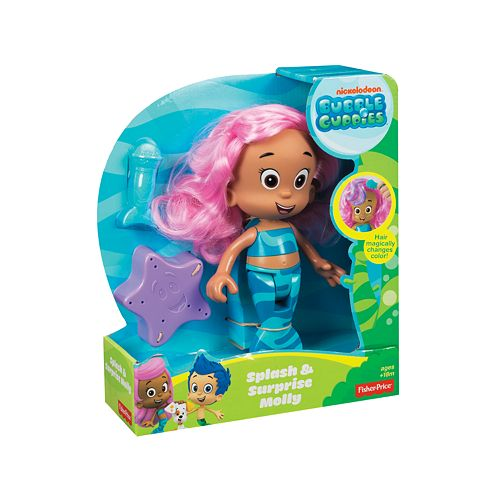 . Nickelodeon Bubble Guppies Splash   Surprise Molly by Fisher Price