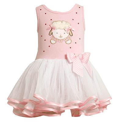 Bonnie Jean Lamb Easter Tutu Dress - Baby