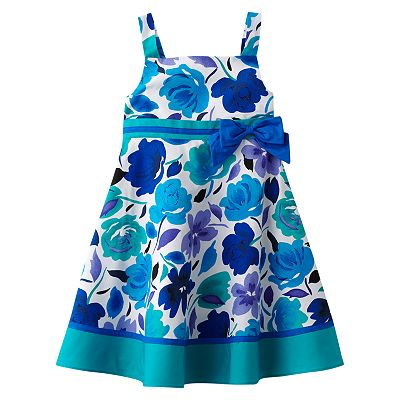 Sophie Rose Floral Sundress - Girls 4-6x