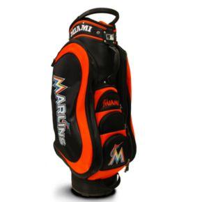 Team Golf Miami Marlins Medalist Cart Bag