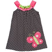 Rare Editions Butterfly Polka-Dot Sundress - Girls 4-6x