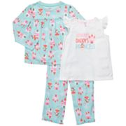 Carter's Daddy's Princess Pajama Set - Girls