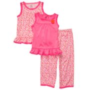 Carter's Floral Pajama Set - Girls