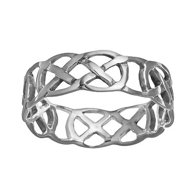 Sterling Silver Celtic Thumb Ring