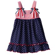 Sophie Rose Stars and Stripes Sundress - Baby