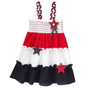 Sophie Rose Star Colorblock Sundress - Baby