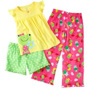 Carter's Frog Pajama Set - Girls