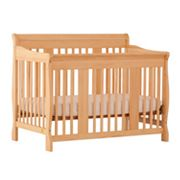 Stork Craft Tuscany 4-in-1 Fixed Side Convertible Crib