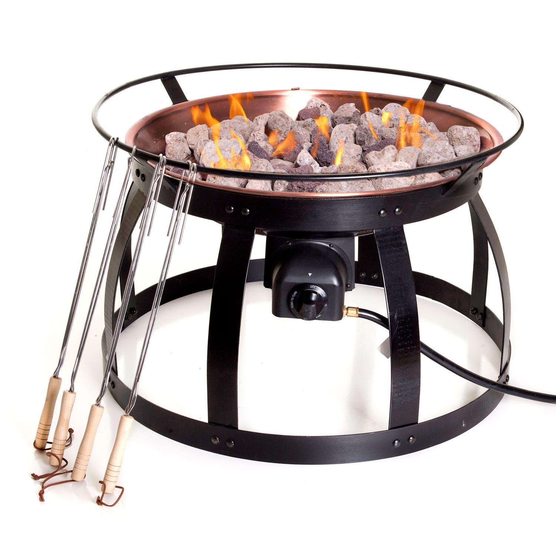 Perfect Camp Chef Santa Fe Gas Fire Pit