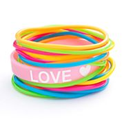 SO Love Jelly Bracelet Set
