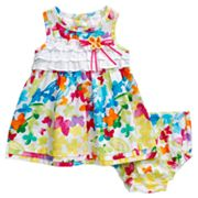 Youngland Butterfly Sundress - Newborn
