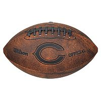 Wilson Chicago Bears Throwback Youth-Sized Football