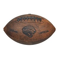Wilson Jacksonville Jaguars Throwback Youth-Sized Football