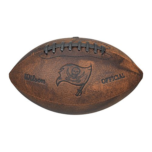 Wilson Tampa Bay Buccaneers Throwback Youth-Sized Football