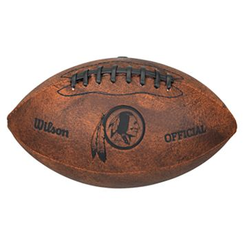 Wilson Washington Redskins Throwback Youth-Sized Football