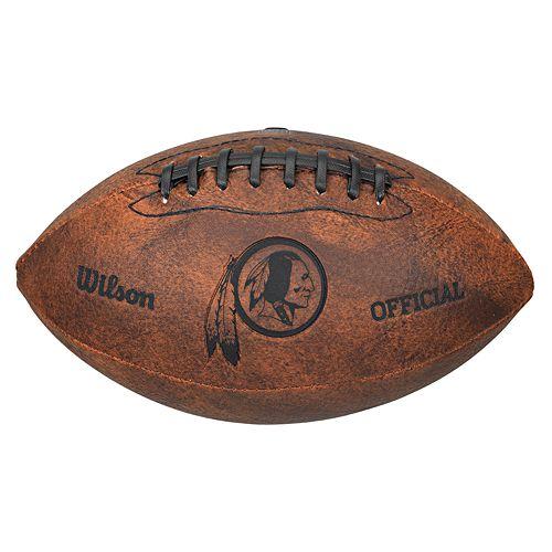 Wilson Washington Redskins Throwback Youth-Sized Football