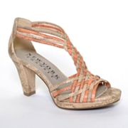 New York Transit Panoramic T-Strap High Heels - Women