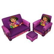 Dora the Explorer Deluxe Sofa Set by Harmony Kids