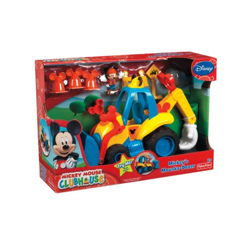 Disney Mickey Mouse and Friends Mickey's Mouska-Dozer by Fisher-Price