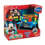 Disney Mickey Mouse and Friends Mickey's Patrol Bike by Fisher-Price