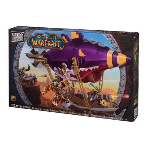 World of Warcraft Goblin Zeppelin Ambush Set by Mega Bloks - 91014