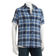 SONOMA life + style 2-in-1 Plaid Casual Button-Down Shirt