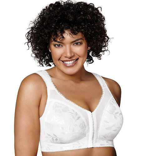 684ba15bb2 Playtex Bra  18 Hour Front-Closure with Flex Back Wireless Bra 4695 -  Women s