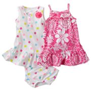 Carter's 2-pk. Floral and Dot Dresses - Baby
