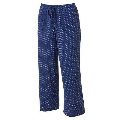 Croft and Barrow Midnight Blue Pajama Capris