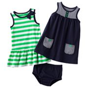 Carter's 2-pk. Striped Dresses - Baby