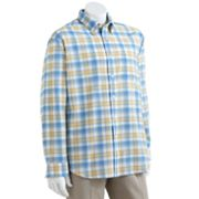 Arrow Plaid Dover Oxford Casual Button-Down Shirt