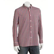 SONOMA life + style Oxford Gingham Casual Button-Down Shirt