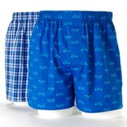 Croft and Barrow 2-pk. Woven Boxers