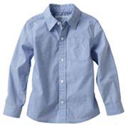 SONOMA life + style Solid Poplin Button-Down Shirt - Toddler