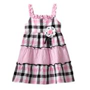 Sophie Rose Seersucker Plaid Sundress - Baby