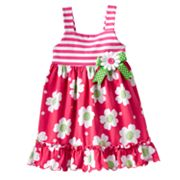 Sophie Rose Floral Knit Sundress - Baby