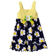 Sophie Rose Daisy Knit Sundress - Baby