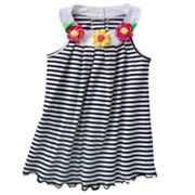 Sophie Rose Striped Knit Sundress - Baby