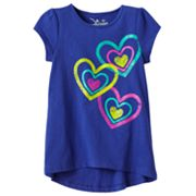 Jumping Beans Heart Babydoll Top - Toddler