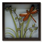 Dragonfly Shadowbox Wall Art