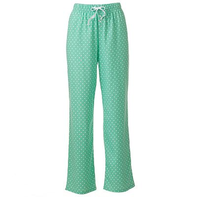Croft and Barrow Mix and Match Knit Pajama Pants