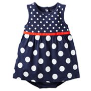 Carter's Dot Sunsuit - Baby