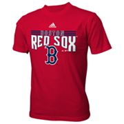 adidas Boston Red Sox Flashbang Tee - Boys 8-20