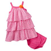 Carter's Geometric Tiered Dress - Baby