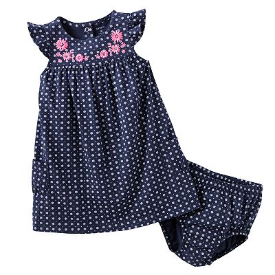 Carter's Dotted Floral Dress - Baby