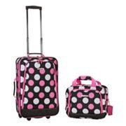 Rockland 2 pc Luggage Set