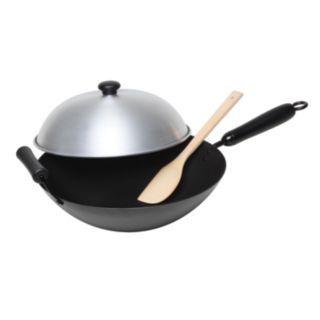 Asian Origins 4-pc. Nonstick Wok Set