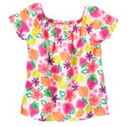 SONOMA life + style Fruit Babydoll Top - Toddler