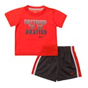 Nike Destined to be Drafted Tee and Shorts Set - Baby
