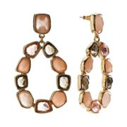 Dana Buchman Simulated Crystal Drop Earrings